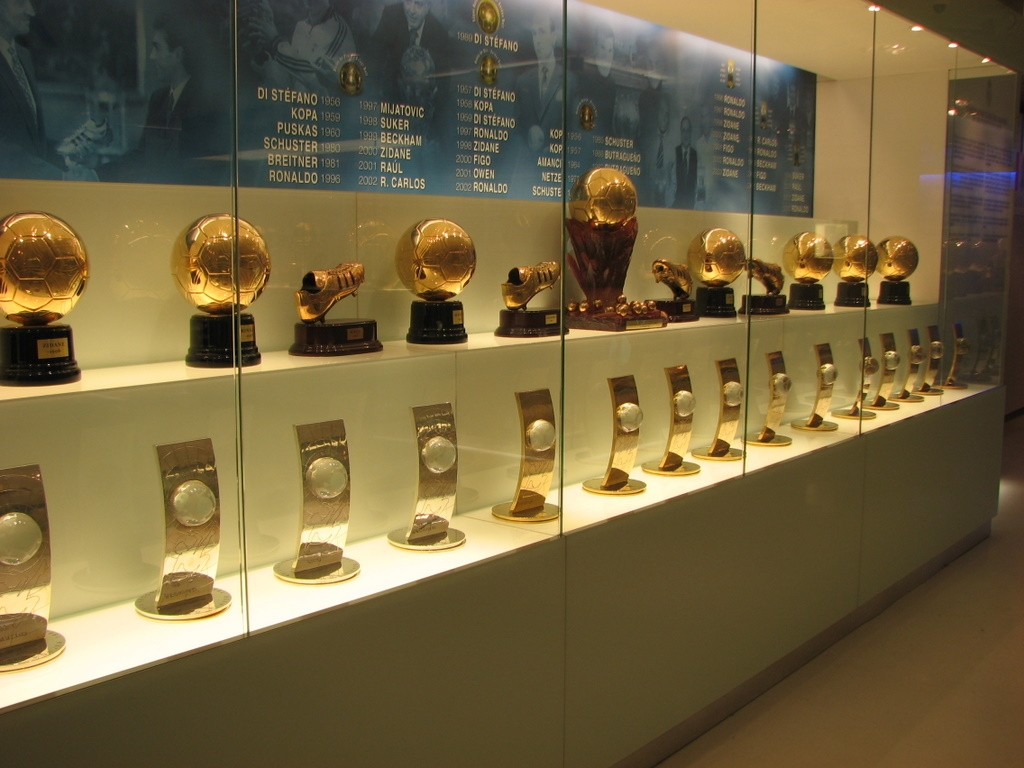 Museo Real Madrid.Museo Del Real Madrid In Madrid Museums In Spain